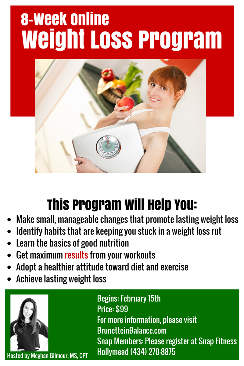 Online Weight Loss Food And Workout Nutritionist